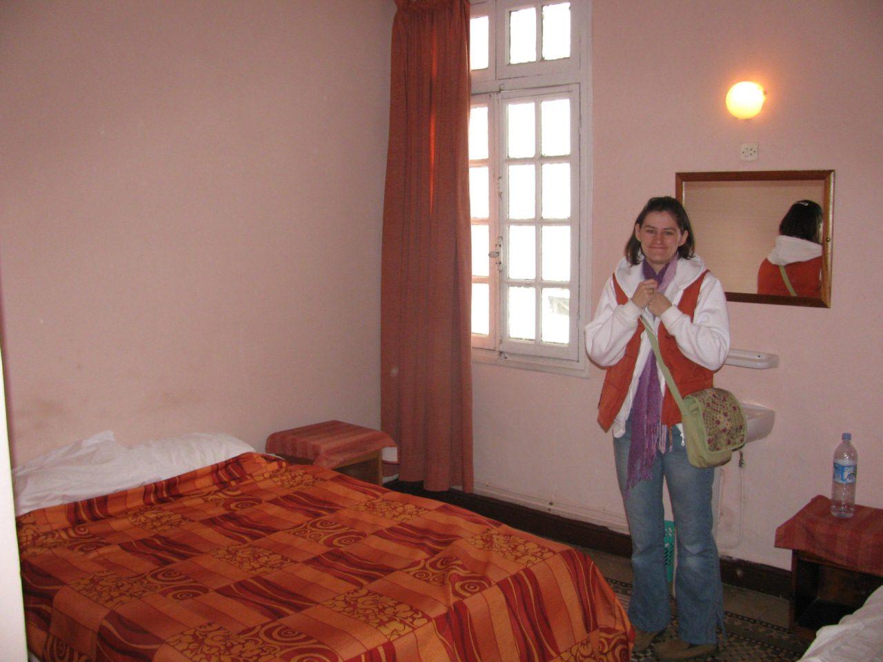 Maroko 2010.03. Czesc 2. Rabat nocleg