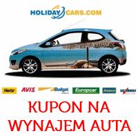 Zniżka na wynajem samochodu w Holidaycars (inne groupony)
