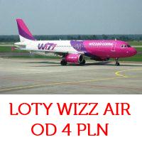 Z Wizz Airem już za 4 PLN (Barcelona, Londyn, Paryż i inne)