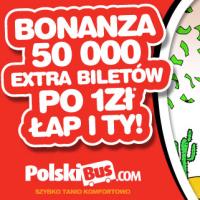 PolskiBus: bilety od 1 PLN* (terminy do 25 lutego)