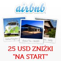 """AirBnb – kod rabatowy 25 USD """"na start"""": sposób na tańsze noclegi (np. w Budapeszcie za 5 EUR/os/noc!)"""