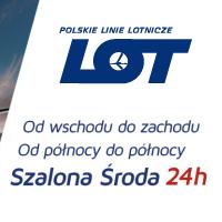 Szalona Środa LOT: 3 kierunki za 329 PLN