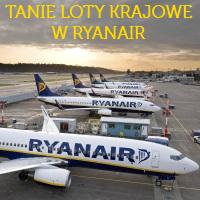 Ryanair: z Krakowa do Gdańska (lub z Gdańska do Krakowa) już od 48 PLN