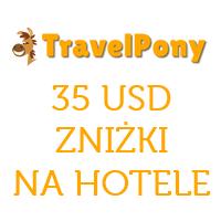 TravelPony: 35 USD zniżki na hotele