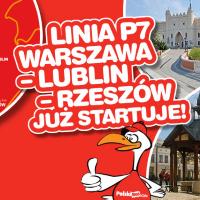 PolskiBus: bilety Warszawa – Lublin – Rzeszów już od 1 PLN*!