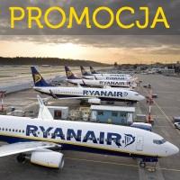 Obniżka w Ryanair: Londyn, Paryż Beauvais, Bergamo i inne już od 36 PLN w dwie strony!