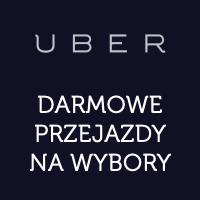 Uber: darmowe przejazdy na niedzielne wybory