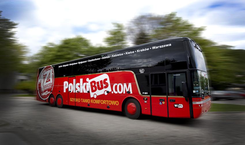 Tanie bilety już od 1 PLN* (PolskiBus – lista tras)