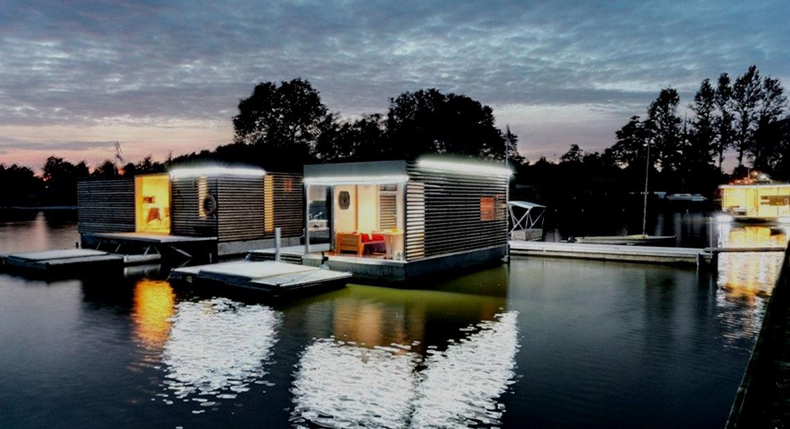 HIT! Domki na wodzie… oryginalne noclegi w jeszcze niższej cenie!