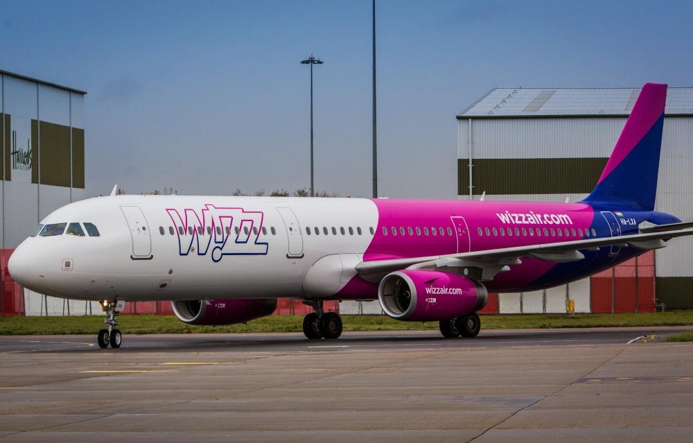 Wizz Air: nowa mobilna strona internetowa oraz prezentacja nowego Airbusa