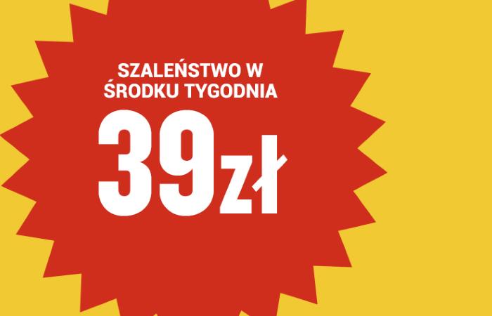 Ryanair: wyprzedaż biletów w cenie już od 39 PLN!