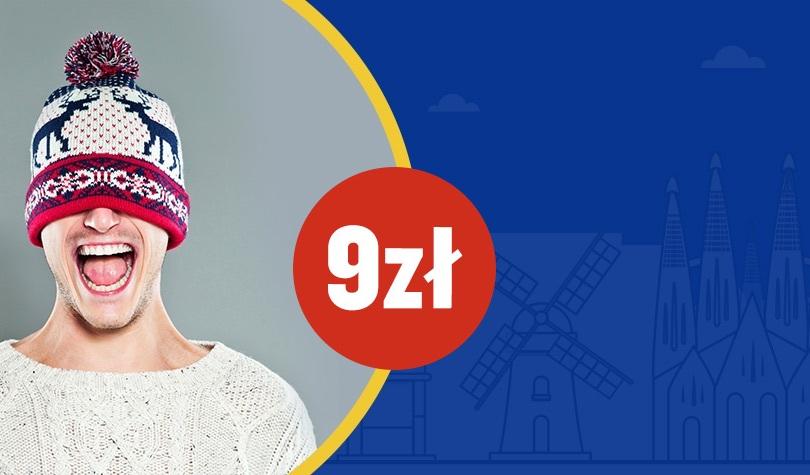 Ryanair: wyprzedaż biletów w cenie od 9 PLN