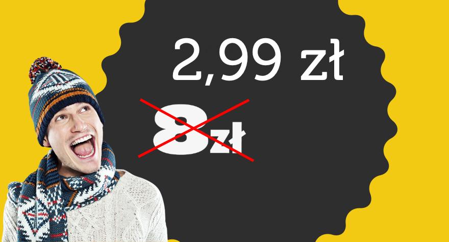 HIT! Loty Ryanair od 2,99 PLN w jedną stronę!