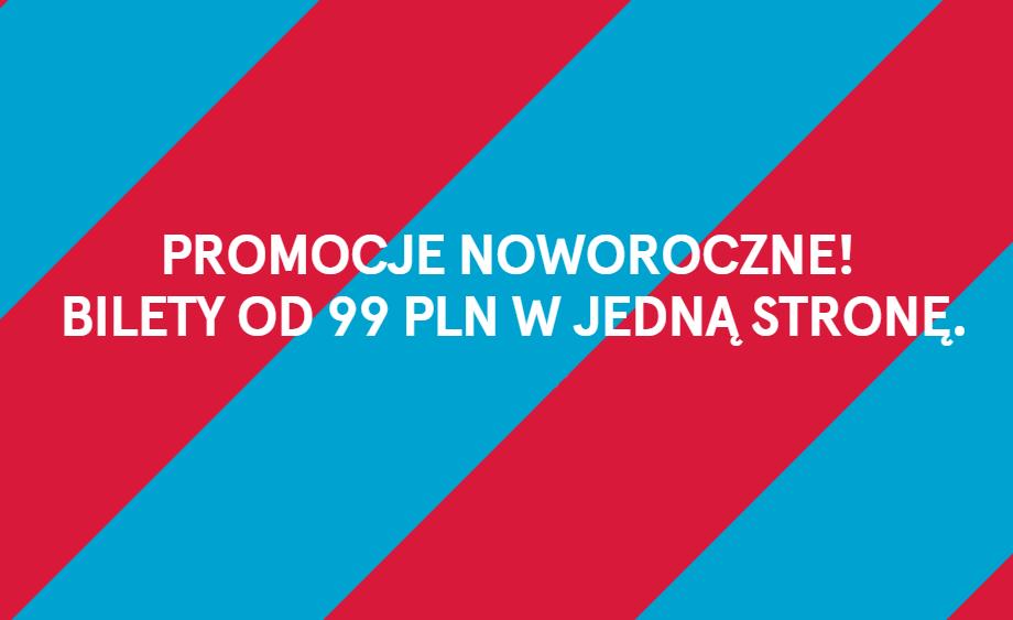Przegląd promocji: noworoczna oferta Norwegian z Warszawy