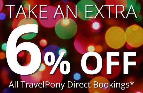 TravelPony: dodatkowe 6% zniżki na noclegi