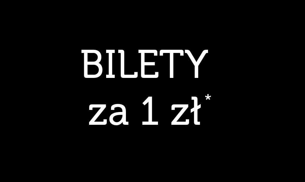 Ponad 20 tras z biletami w cenie od 1 PLN*