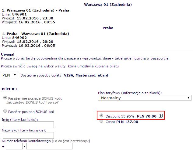 ecolines-praga35pln-bilety