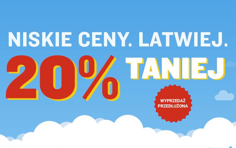 Ryanair: wyprzedaż z lotami od 19 PLN przedłużona!