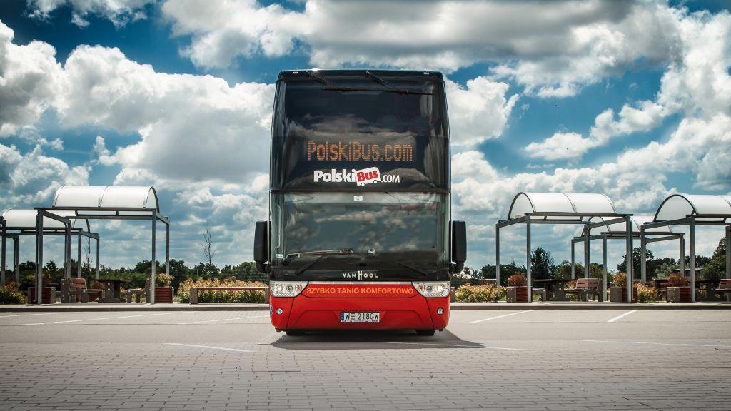 Do 30% rabatu na wybrane trasy PolskiBus.com