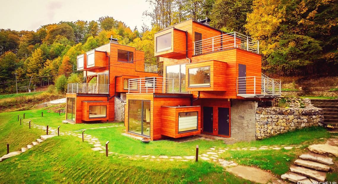 Apartamenty Szuflandia – nietypowe noclegi w górach