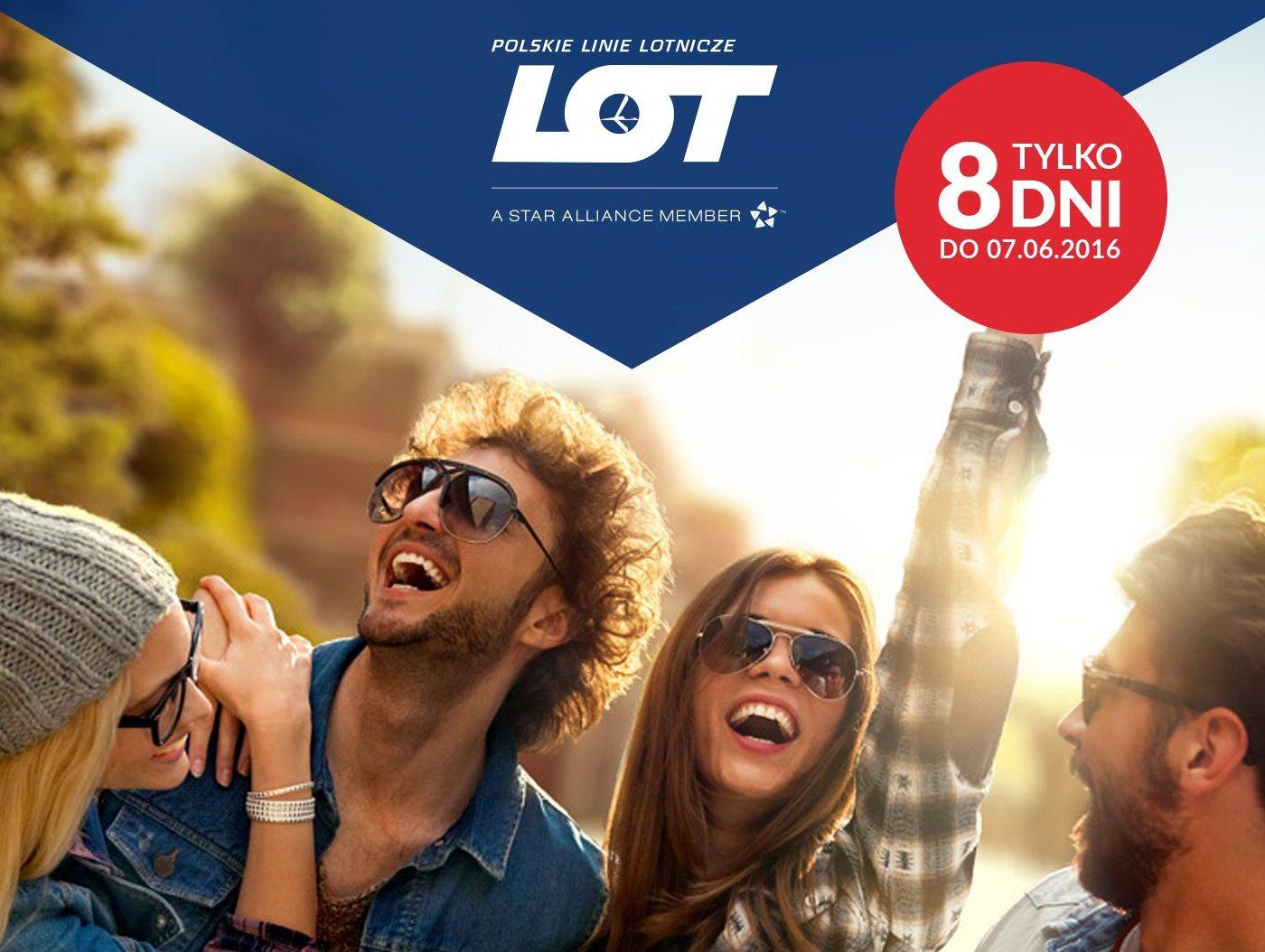 PLL LOT: Odlotowy Festiwal Cenowy (Europa Południowa i inne)