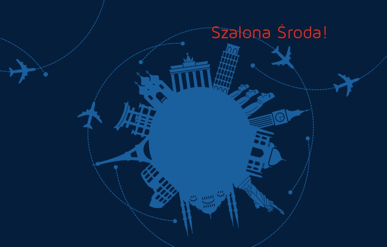 Szalona Środa LOT: wakacyjne loty już od 359 PLN!