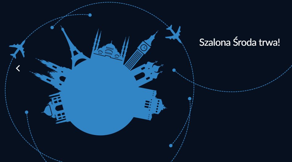 Szalona Środa LOT: loty już od 139 PLN (z bagażem)