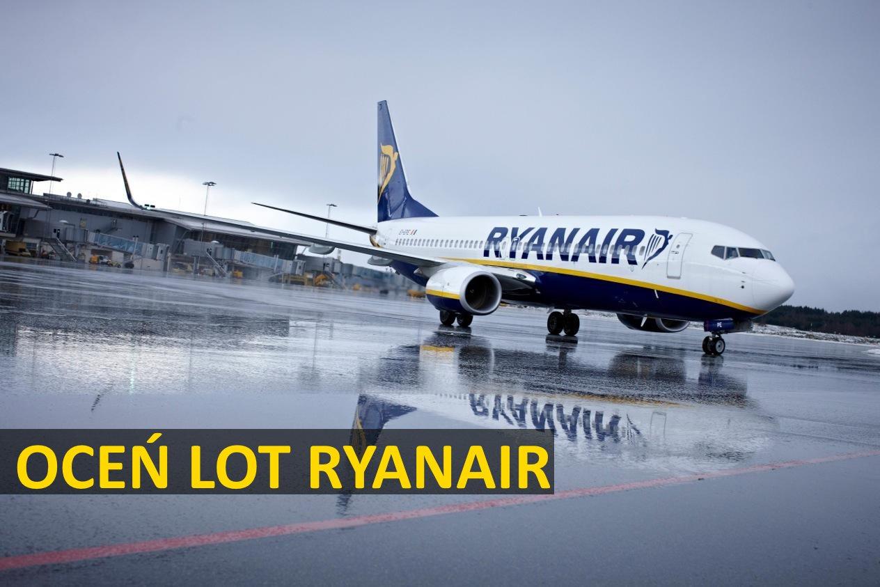 """Ryanair """"Rate My Flight"""" – oceń swój lot! Usługa już jest dostępna."""