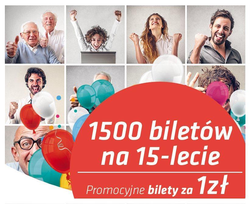 Przewozy Regionalne: aż 1500 PLN biletów już od 1 PLN!