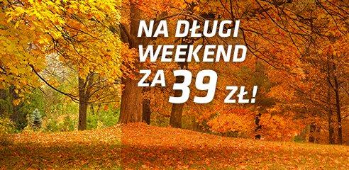 39 PLN… za nielimitowane przejazdy pociągami w długi weekend!