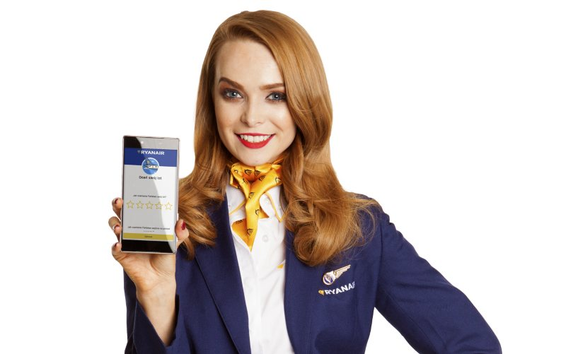 Ryanair: 93% naszych pasażerów jest zadowolonych z podróży