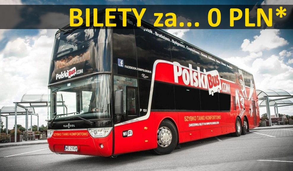 PolskiBus: dzieci jadą za darmo* (np. na zimowe ferie!)