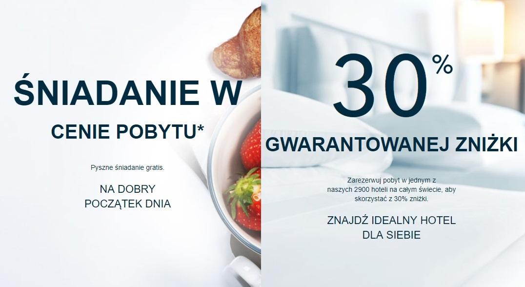 """""""Szalone Ceny"""" Accorhotels: do 30% zniżki na noclegi + śniadanie GRATIS!"""