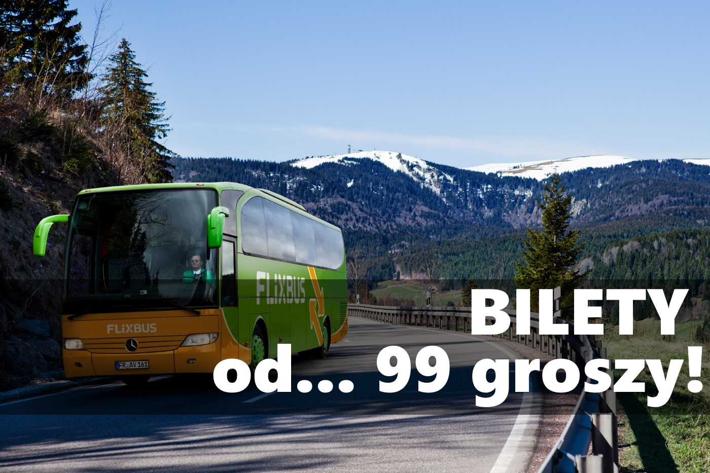 Flixbus: nowe trasy i bilety już od 99 groszy