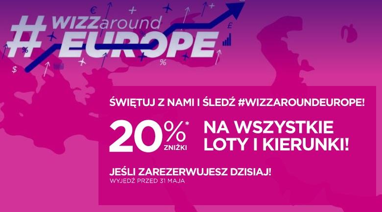 Islandia, Barcelona, Maroko i wiele innych! 20% rabatu na loty do końca maja.