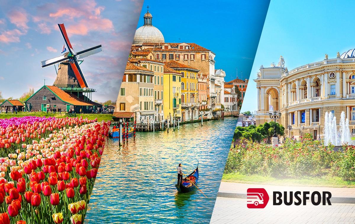 Wyjedź razem z Busfor – lato w Holandii, we Włoszech i na Ukrainie