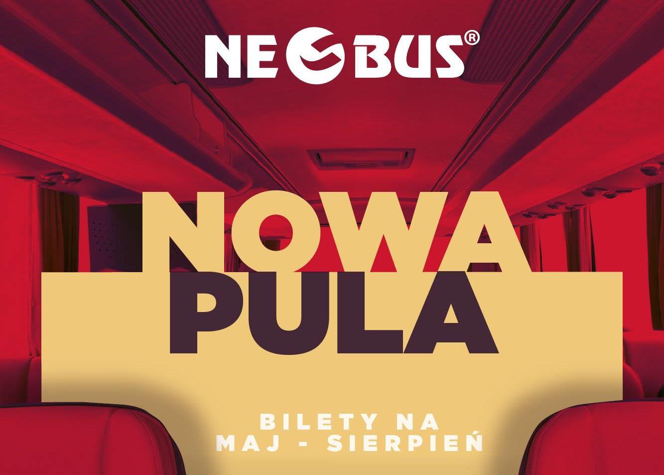 Neobus: bilety od 1 PLN. Największa promocyjna pula (także na wakacje!)