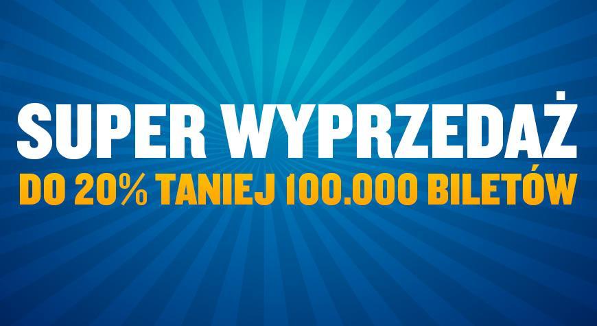 100 000 promocyjnych biletów w Ryanair. Wyprzedaż trwa do środy