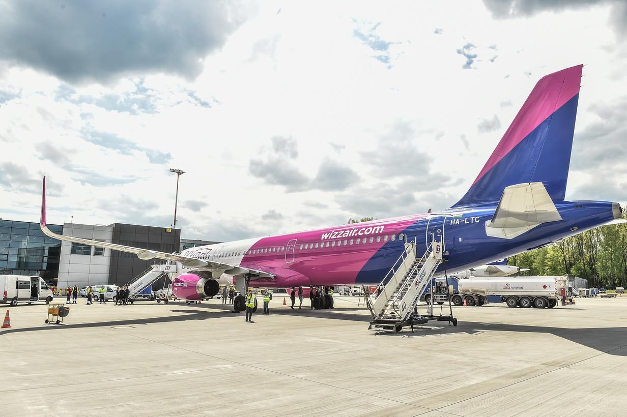 Otwarcie bazy Wizz Air w Kraków Airport