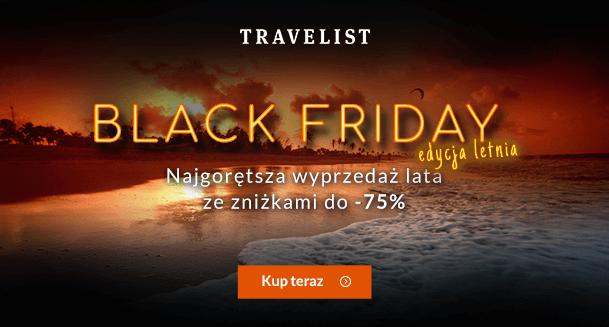 Letni Black Friday w Travelist – obniżki ceny noclegów!