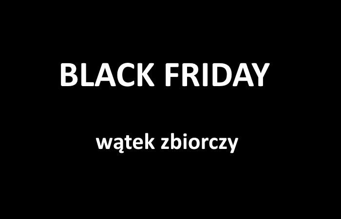 Black Friday 2020 – zbiorczy post z promocjami!