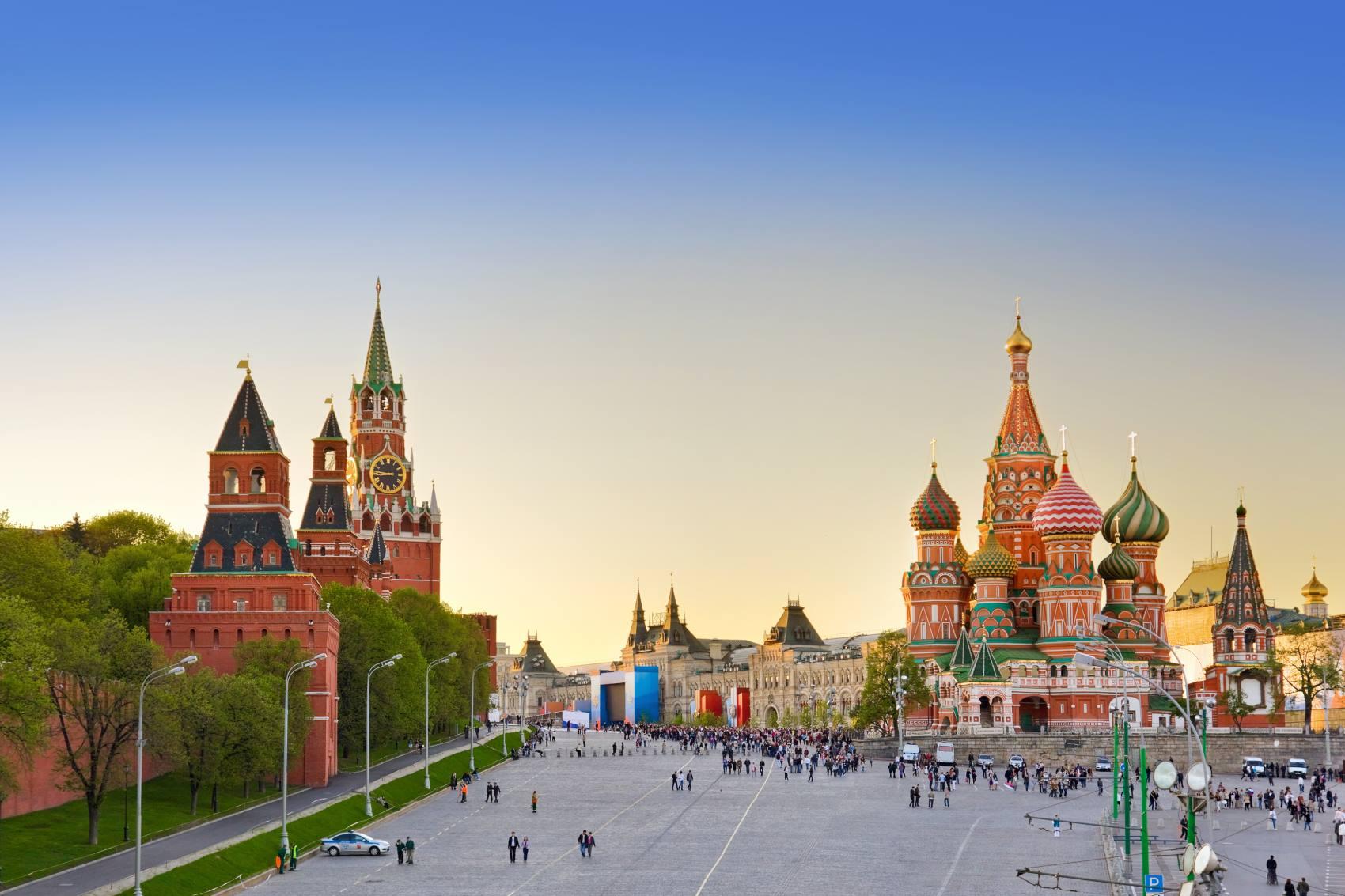 Piękna Moskwa z Polski. Dużo terminów lotów, także w wakacje!