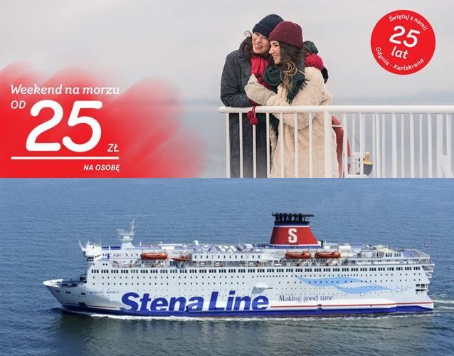 Stenaline: rejsy do Szwecji już od 25 PLN/os! Promocja jest dostępna