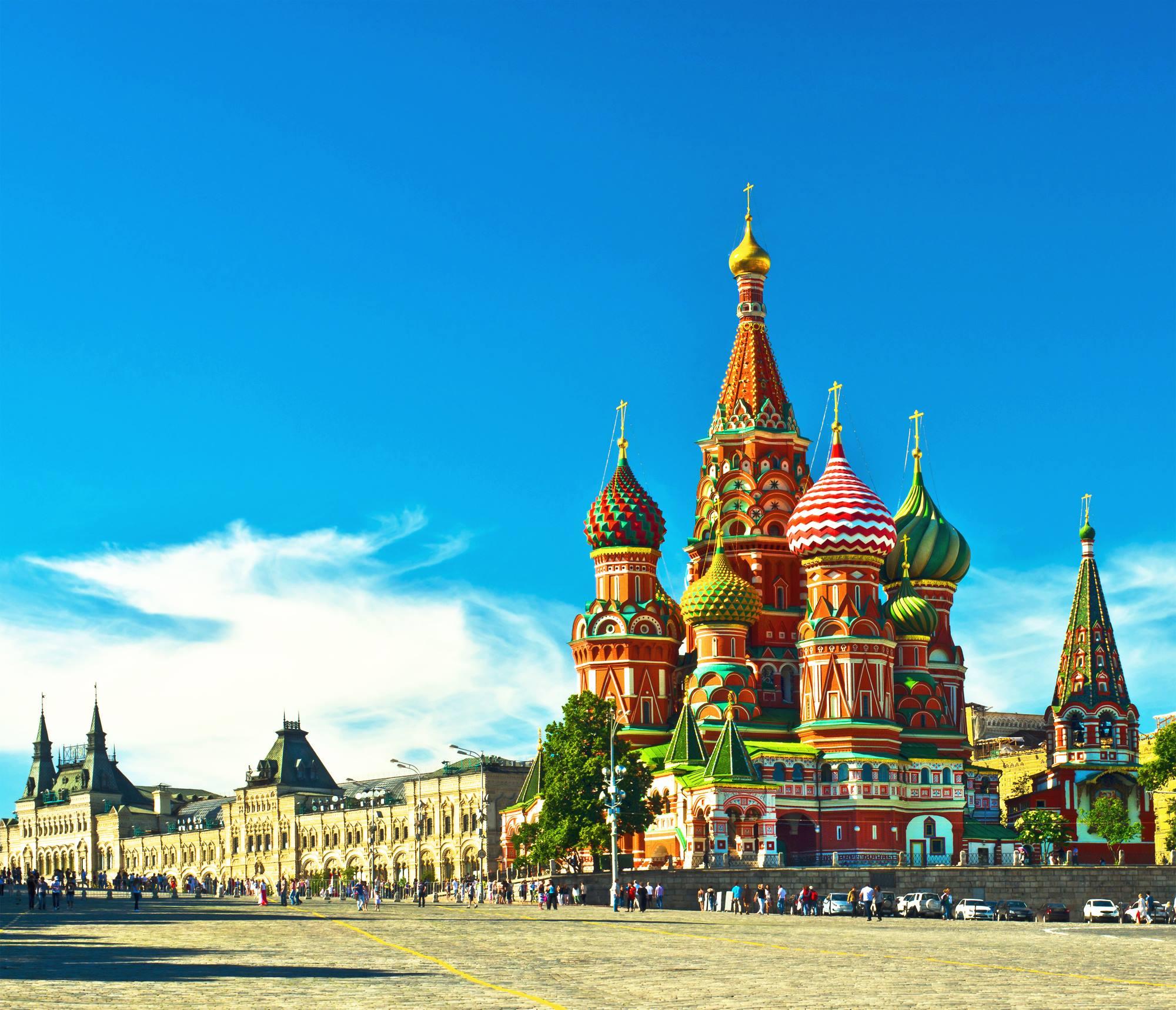 Promocja z tanimi lotami do Moskwy. Dużo terminów z Polski