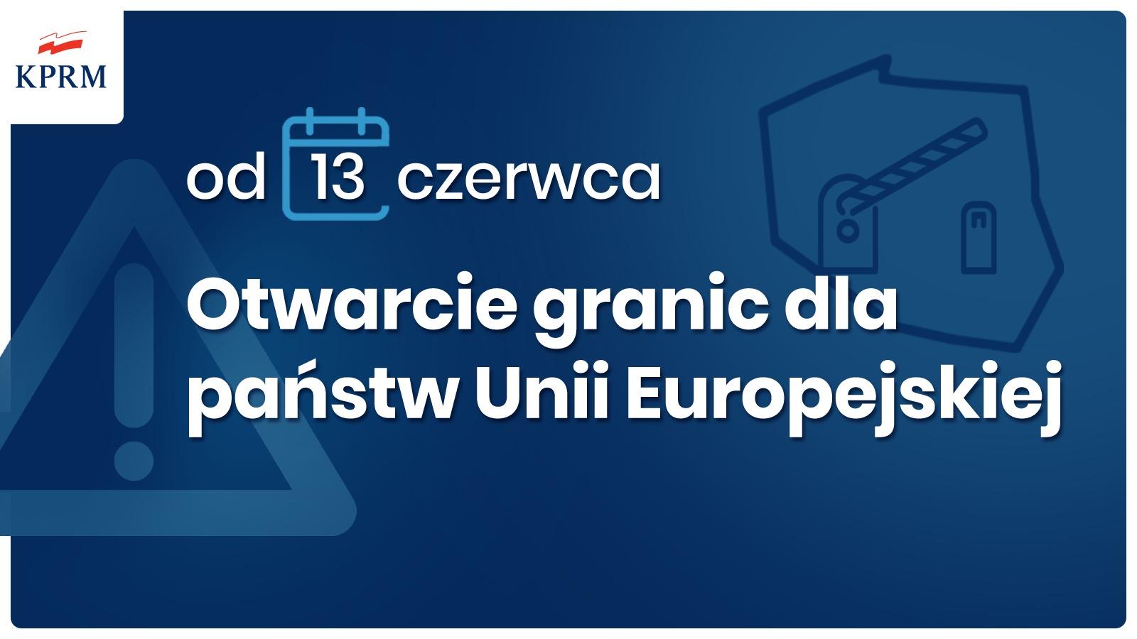 Polska od 13 czerwca 2020 otwiera granice. Brak obowiązkowej kwarantanny, wrócą też loty!