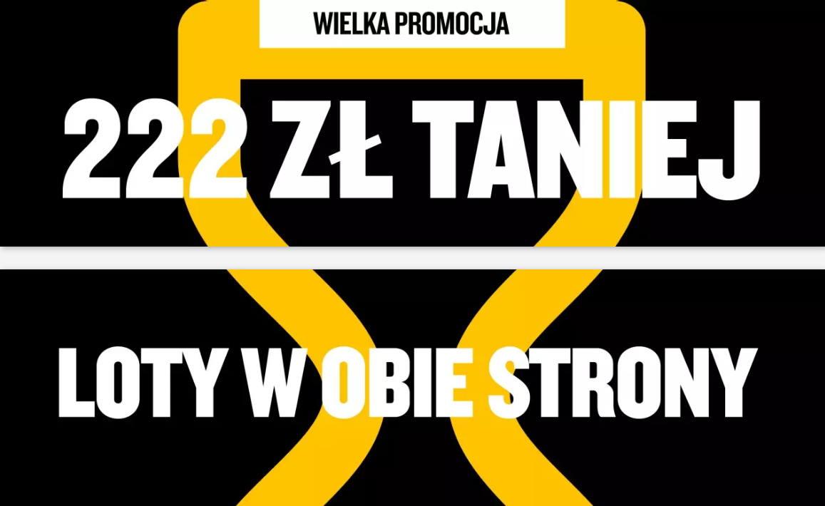 Ryanair: wyprzedaż lotów z Polski od 39 PLN w każdą stronę