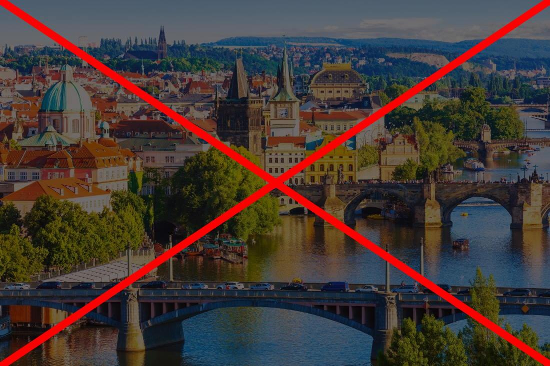 Duży lockdown w Czechach – zamknięte hotele i nie tylko. To już kolejne utrudnienia w podróżowaniu (aktualizacja)