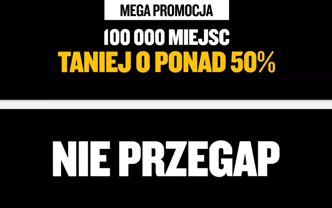 Ryanair: wyprzedaż z rabatem do 50%. Loty od 25 PLN!