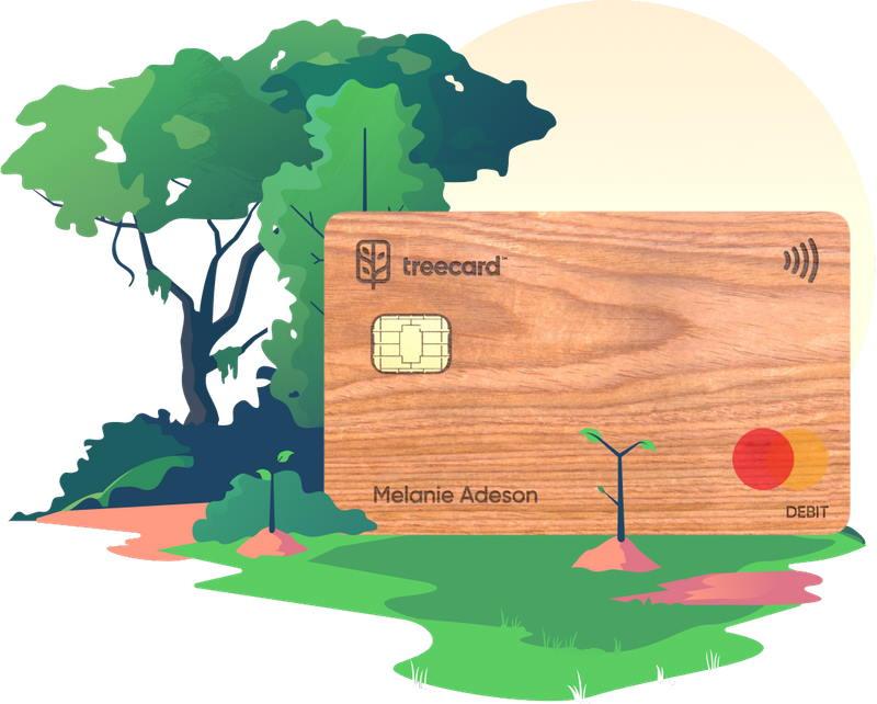 TreeCard – darmowa DREWNIANA karta płatnicza