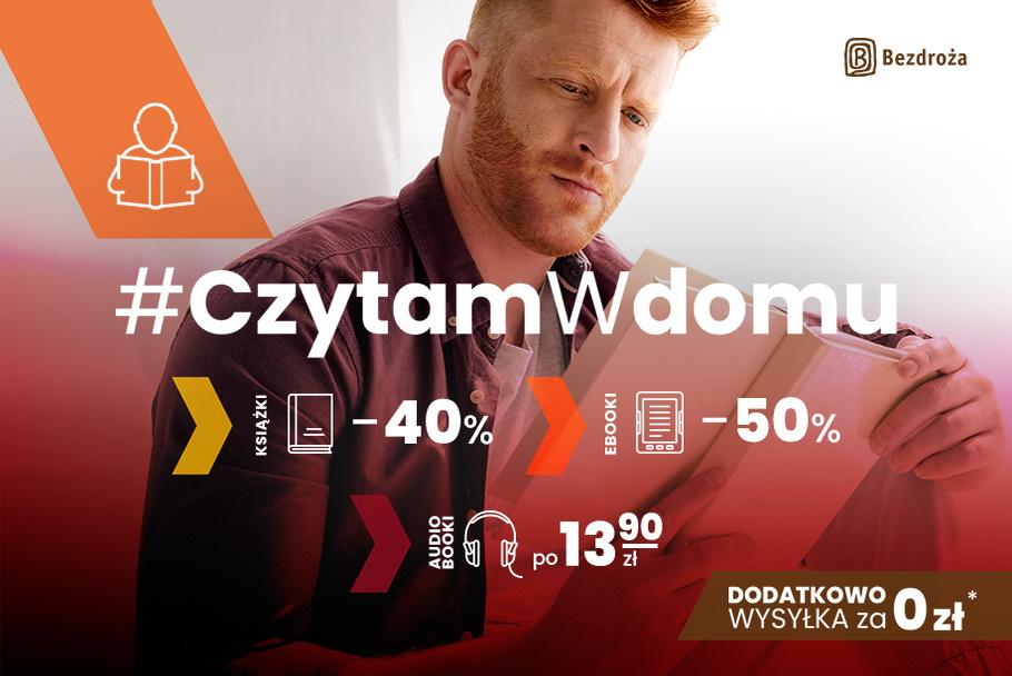 #CzytamWdomu – przewodniki, książki podróżnicze i inne już od… 1 PLN!